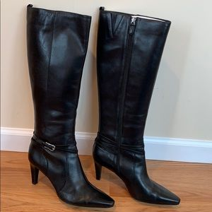 High heeled boots circa joan&david